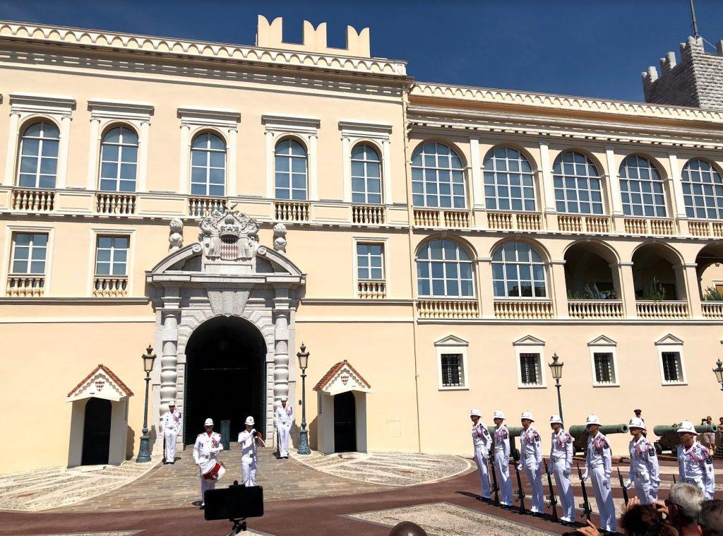 Monaco Prince's Palace Ceremony