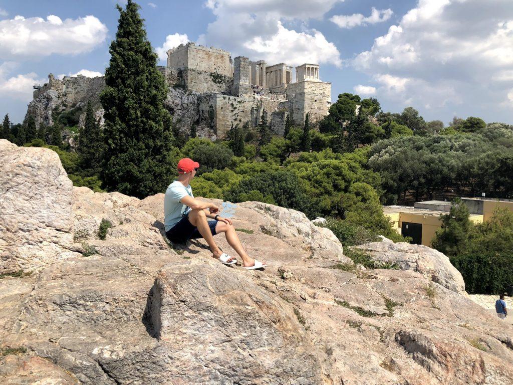 Hill next to Acropolis