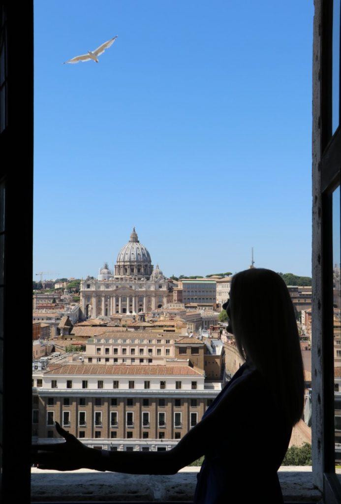 Castel Sant'Angelo view