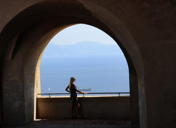 Castel Sant'Elmo View