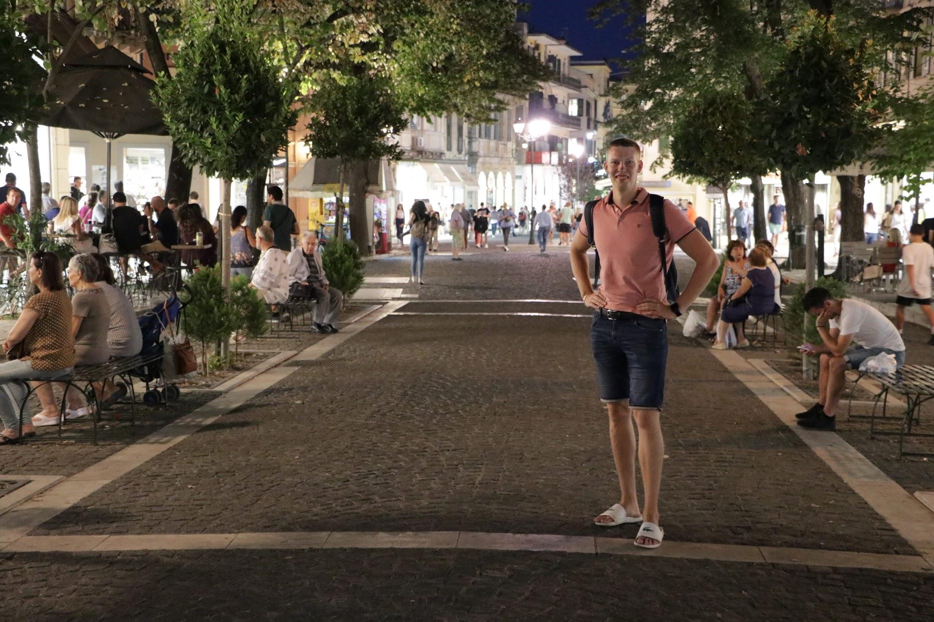Corfu Kerkyra City Centre