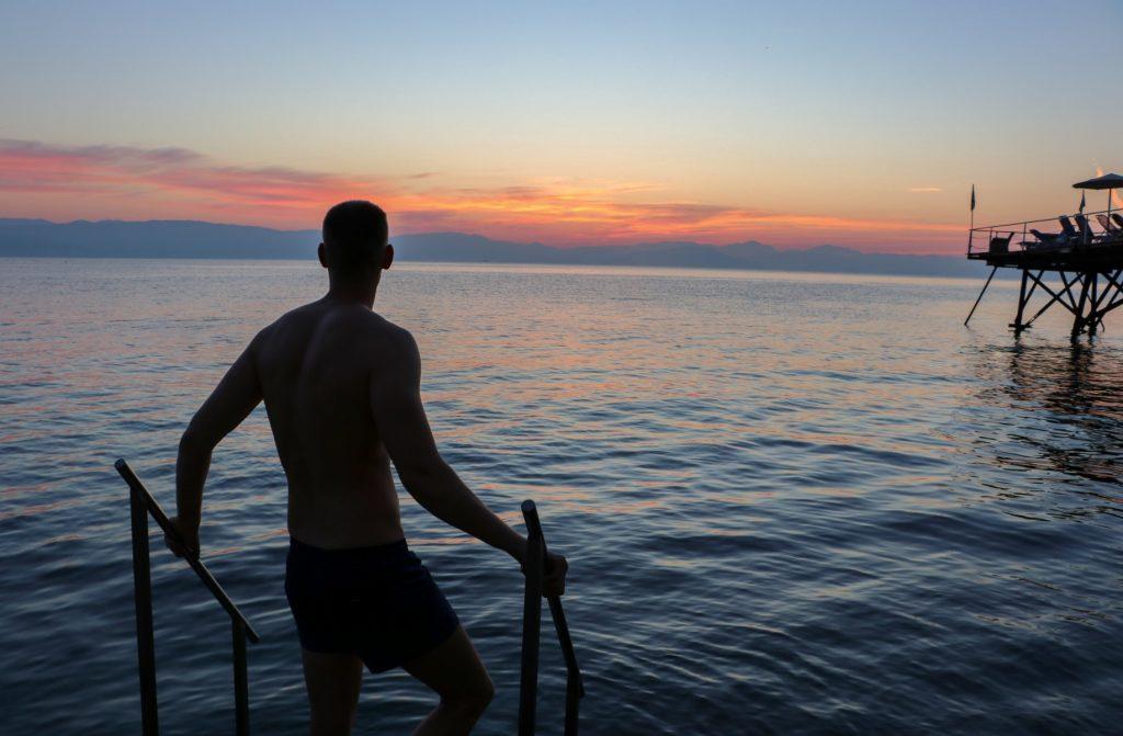 Morning in Corfu