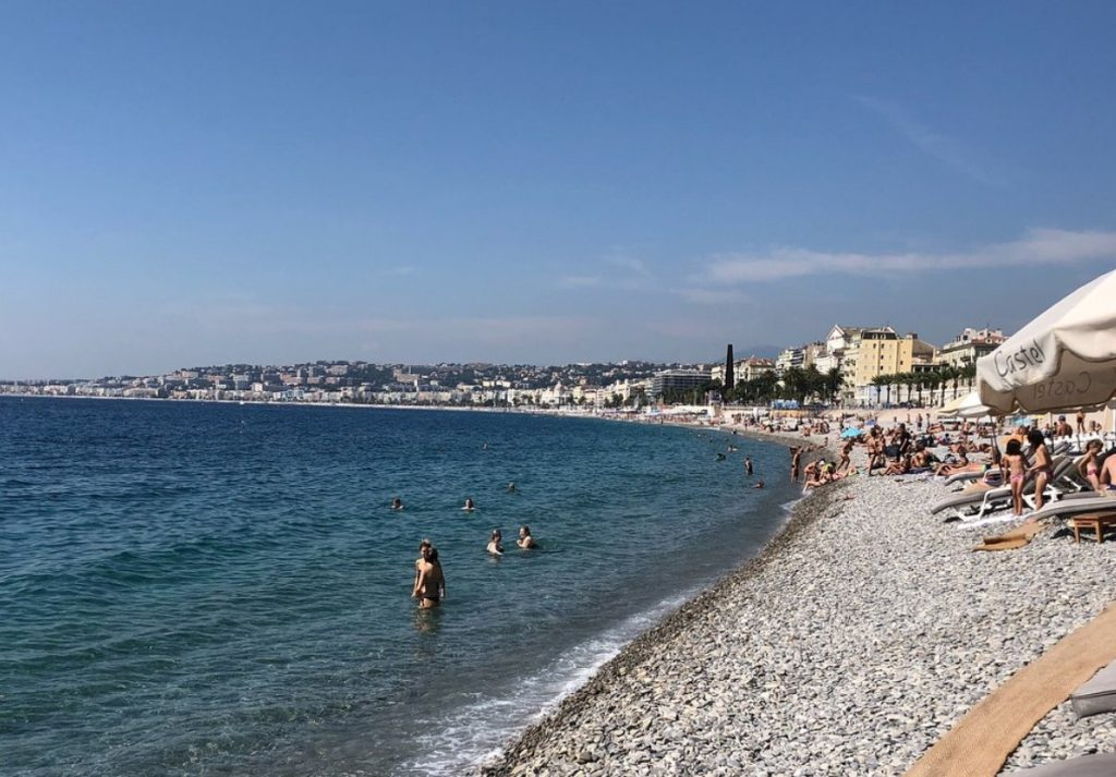 Castel Plage Nice Beach
