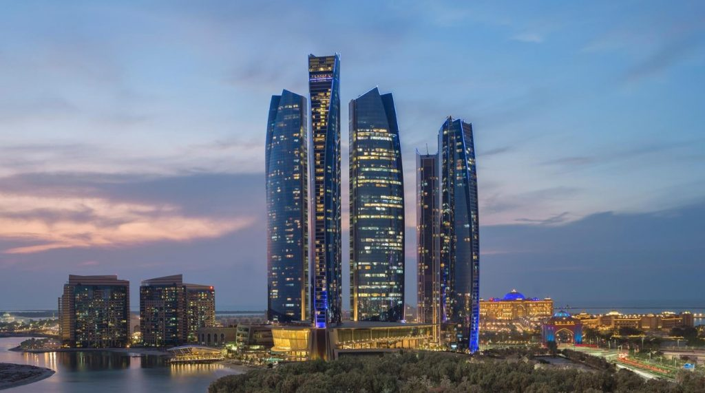 Abu Dhabi Skyline - Etihad Towers
