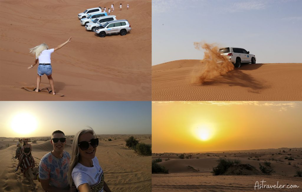 The Dubai Desert