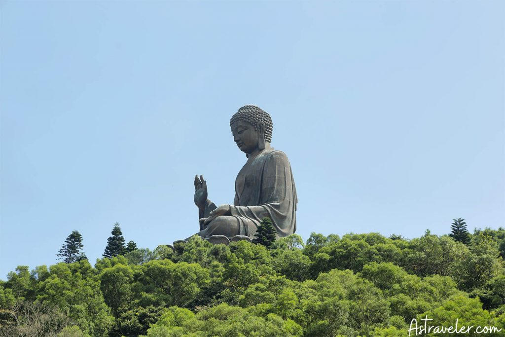 Big Buddha At Ngong Ping