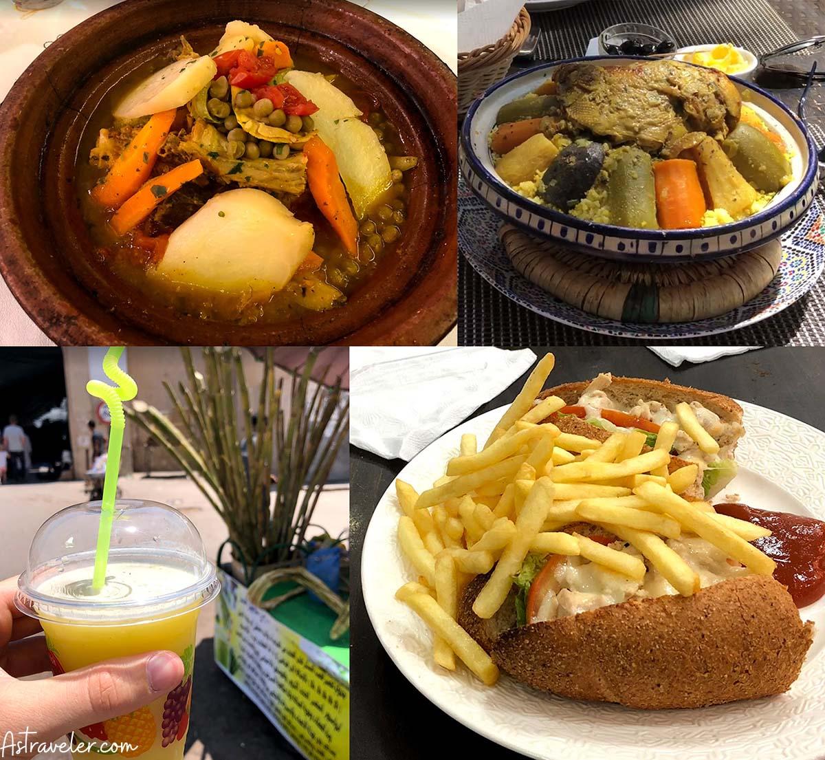 Moroccan cuisine in Agadir