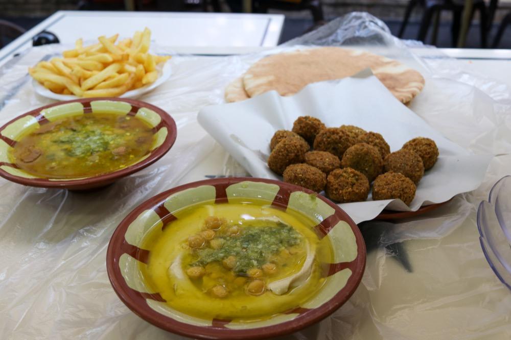 Hashem Restaurant Down Town - Falafels