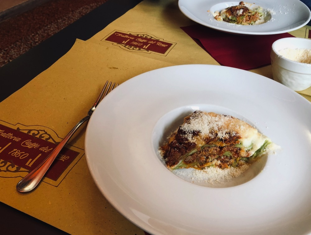 Lasagna in Bologna